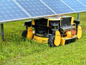 Spider 2SGS under Solar Panel