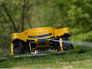 Spider Slope Mower on Winch